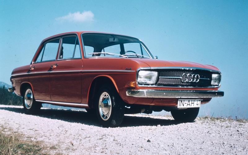 Mẫu xe F103 là thế hệ đầu cho xe Audi.