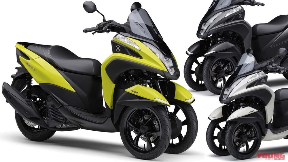 Yamaha Tricity 125 2021 chính thức ra măt tại Nhật Bản