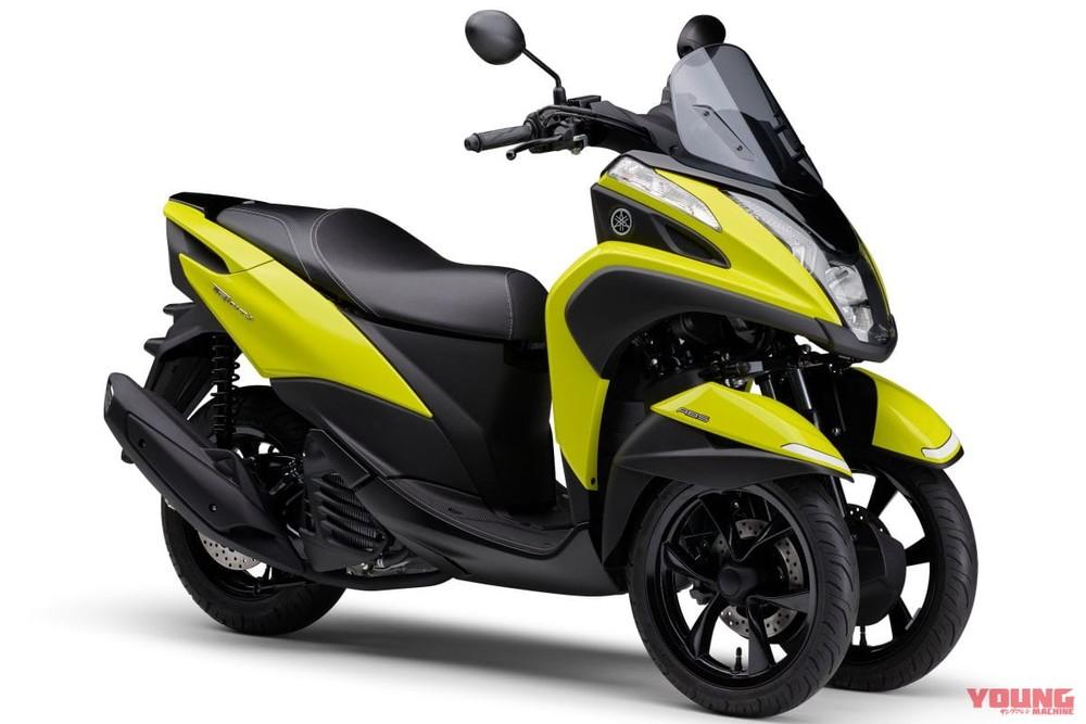Màu mới nổi bật trên Yamaha Tricity 125 2021