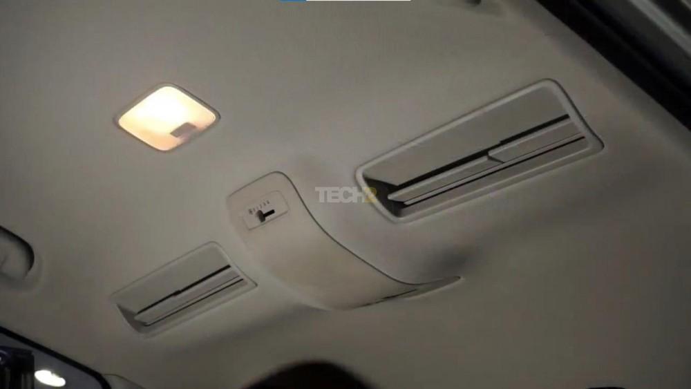 Cửa gió điều hòa trên trần xe của Kia Sonet 7 chỗ