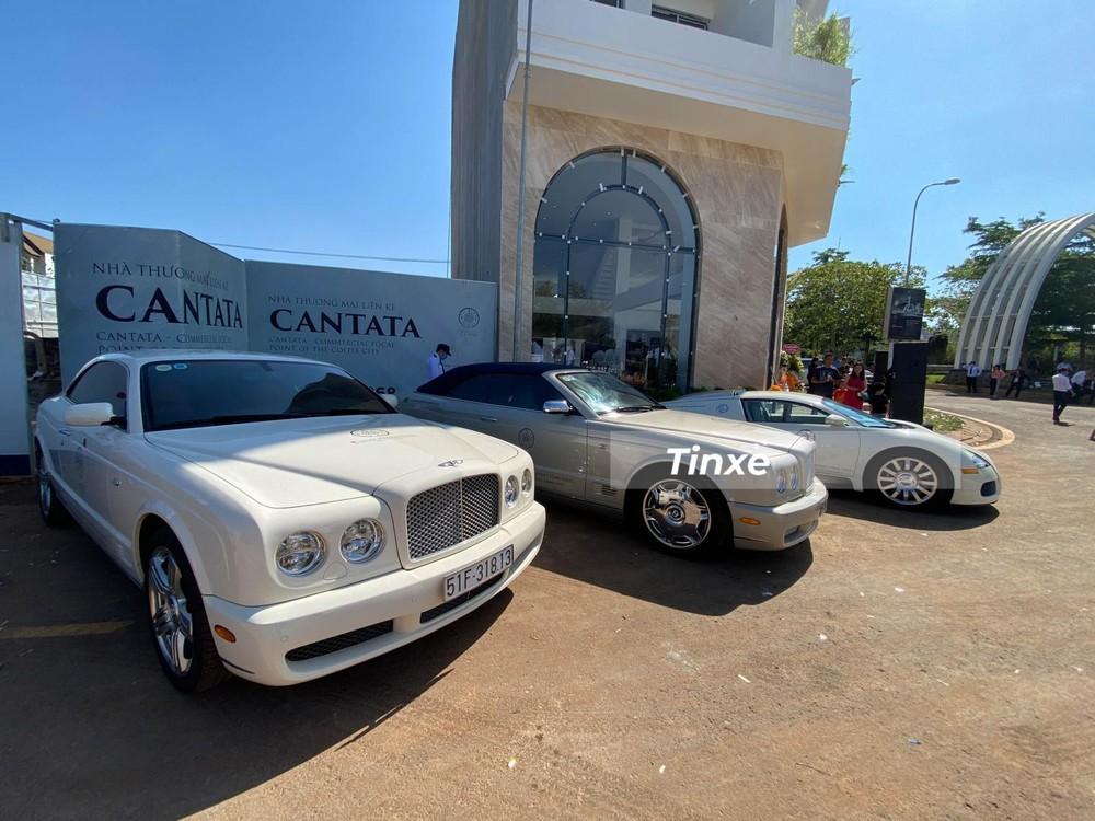 Bentley Brooklands Coupe cùng phiên bản mui trần Bentley Azure tạo thành bộ đôi xe 2 cửa thú vị của Chủ tịch Trung Nguyên đang sở hữu