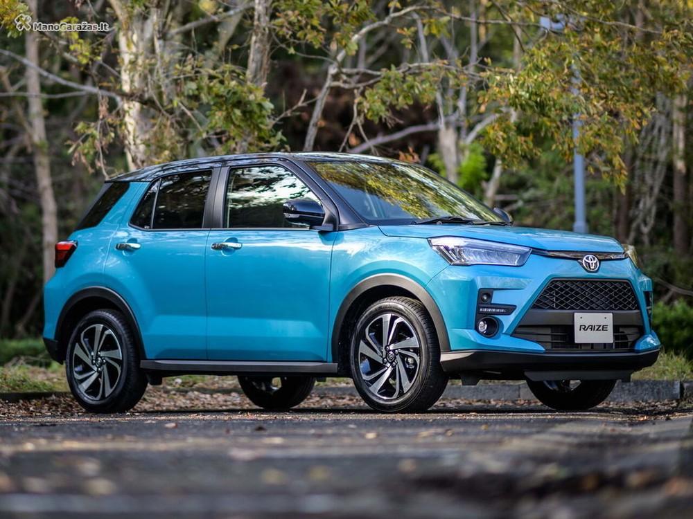 Mẫu SUV cỡ B sẽ được Toyota Việt Nam đưa về vào cuối năm nay rất có thể sẽ là Toyota Raize 2021.