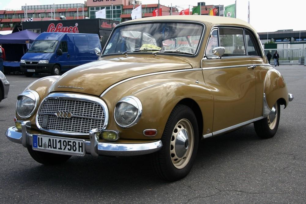 Mẫu xe Auto Union 1000 đánh dấu cho sự trở lại của hãng xe Auto AG.