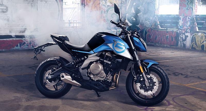 CF Moto 650 NK SP chính thức được ra mắt