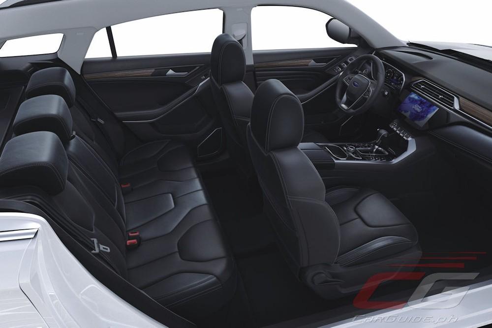 Dù có kích thước lớn hơn Honda CR-V nhưng Ford Territory chỉ được trang bị nội thất 5 chỗ