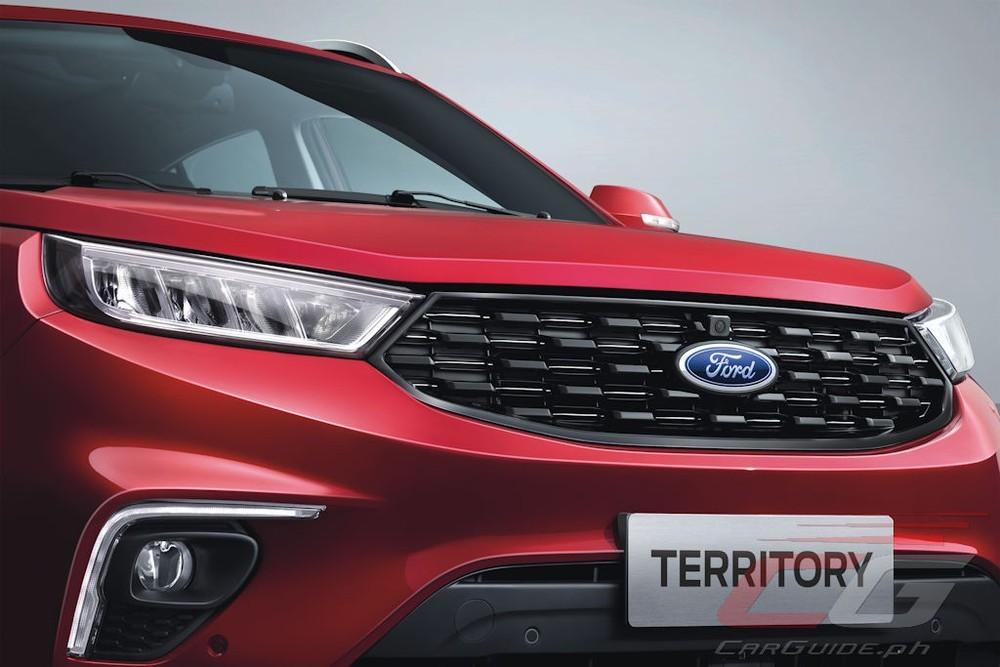 Ford Territory tại Philippines được trang bị lưới tản nhiệt màu đen