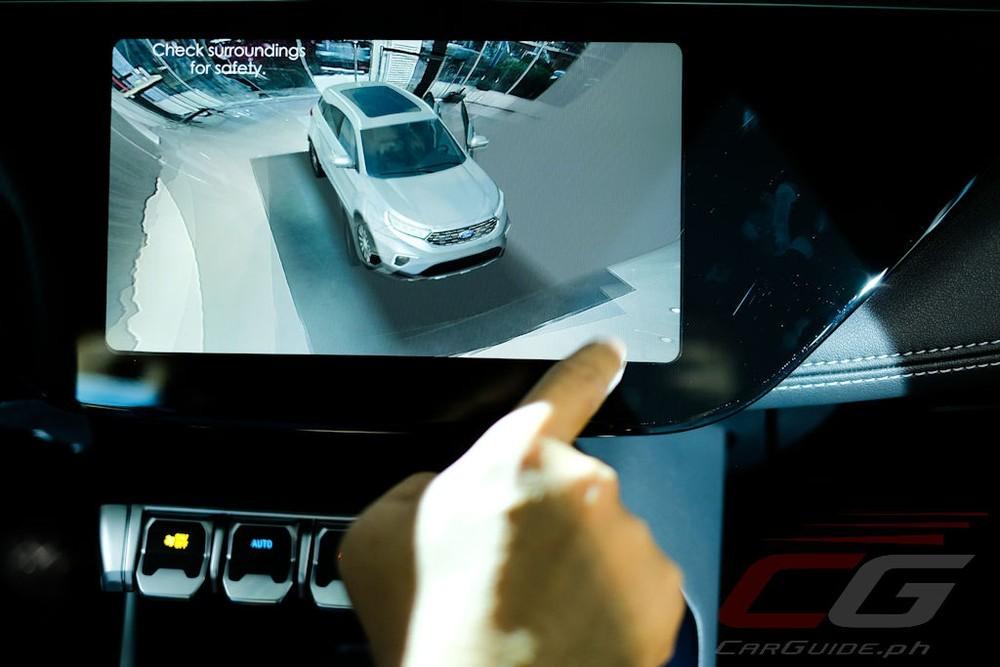 Camera 360 độ của Ford Territory