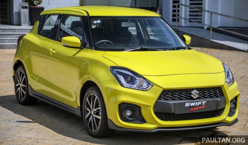 Suzuki Swift Sport 2021 ra mắt Malaysia