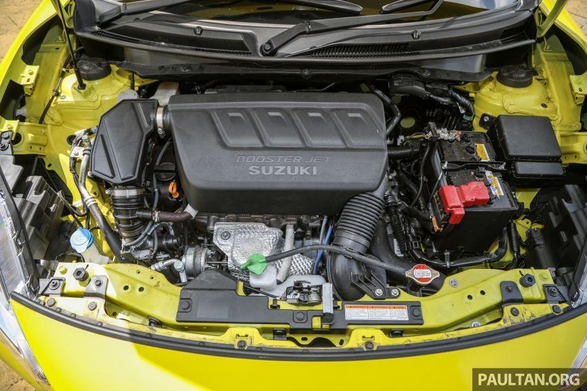 Động cơ của Suzuki Swift Sport 2021