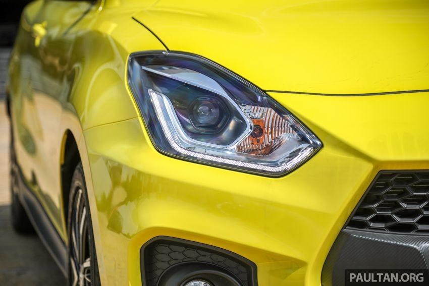 Đèn pha của Suzuki Swift Sport 2021
