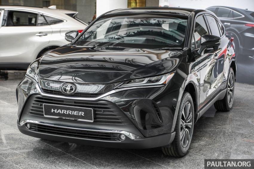 Toyota Harrier 2021 màu đen