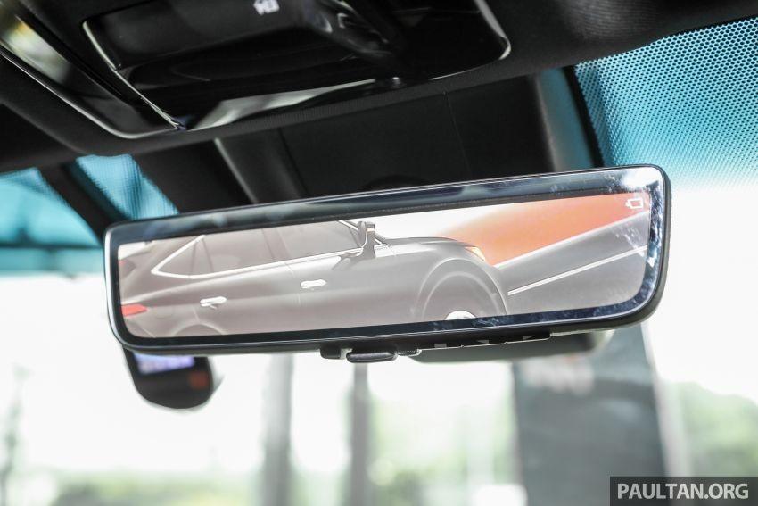 Gương chiếu hậu kỹ thuật số của Toyota Harrier 2021