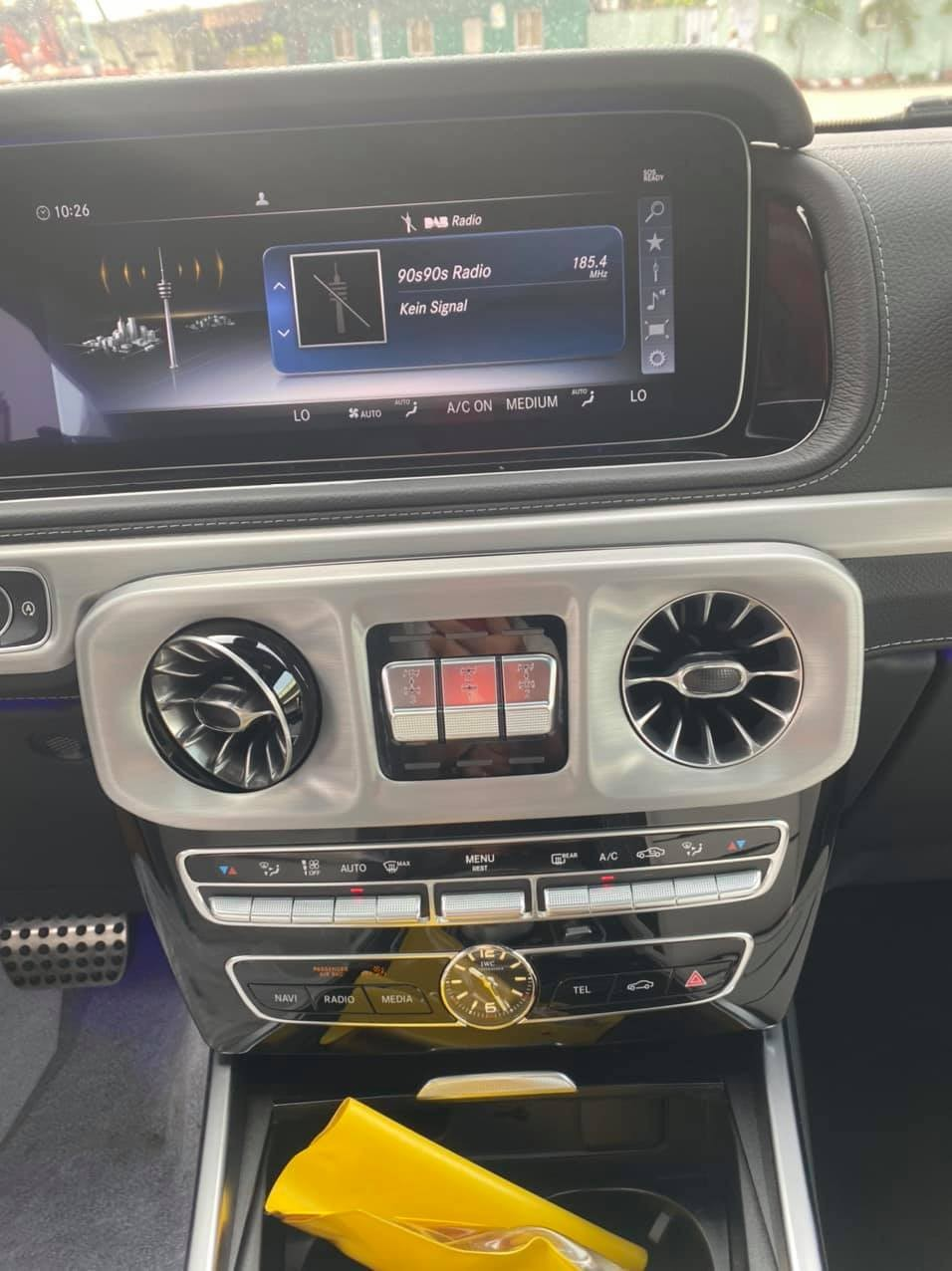 Bảng điều khiển của xe Mercedes-AMG G63