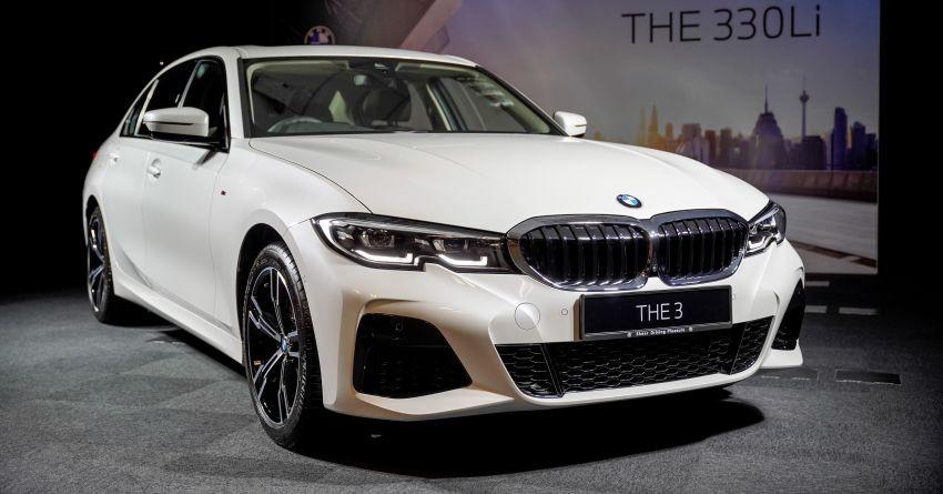 BMW 3-Series Li 2021 có cửa sau dài hơn bản thường