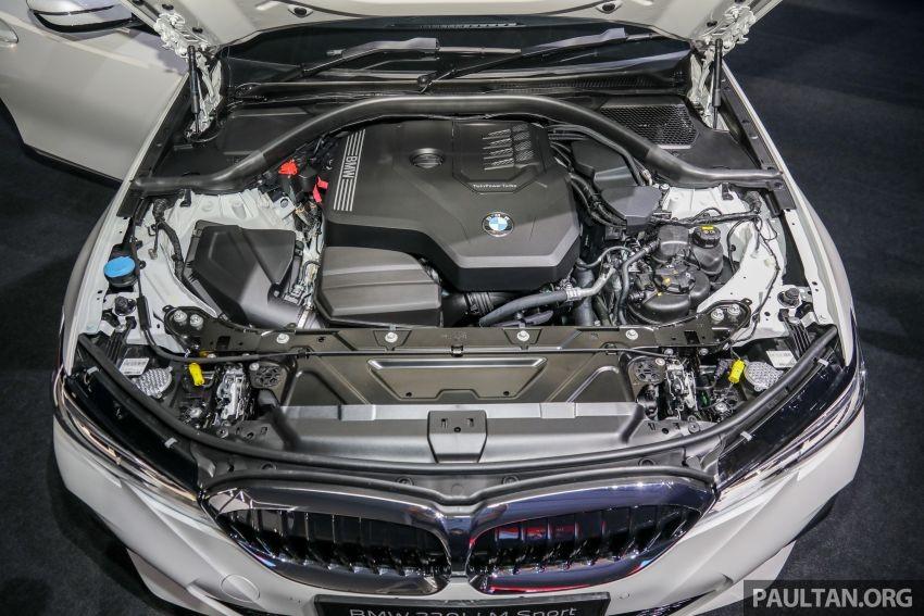 Động cơ của BMW 3-Series Li 2021