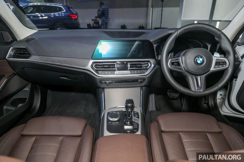 Nội thất của BMW 3-Series Li 2021