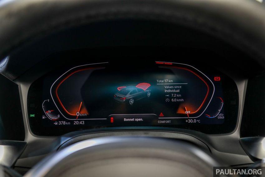 Bảng đồng hồ của BMW 3-Series Li 2021