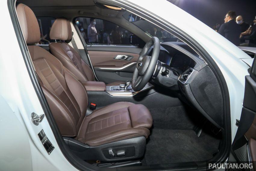 Ghế trước của BMW 3-Series Li 2021