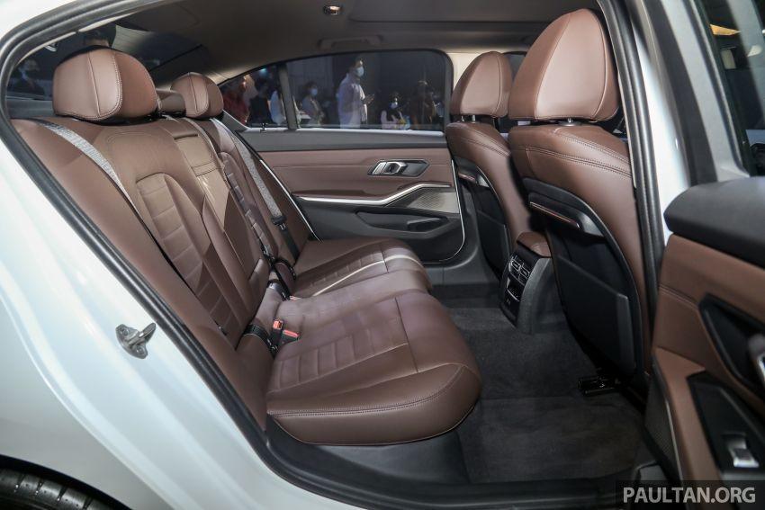 Ghế sau của BMW 3-Series Li 2021