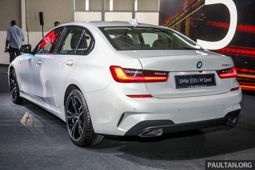 BMW 3-Series LWB 2021 có thiết kế khá giống bản thường