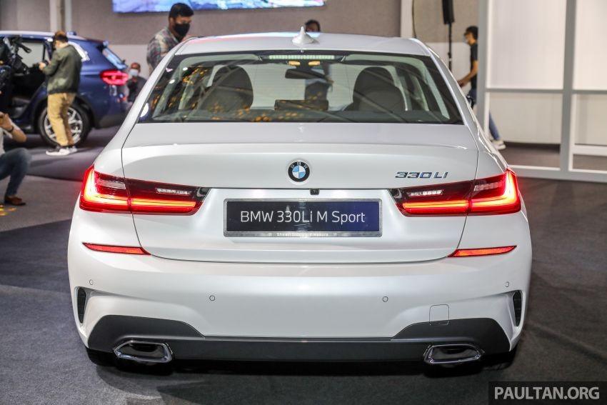 BMW 3-Series Li 2021 nhìn từ phía sau