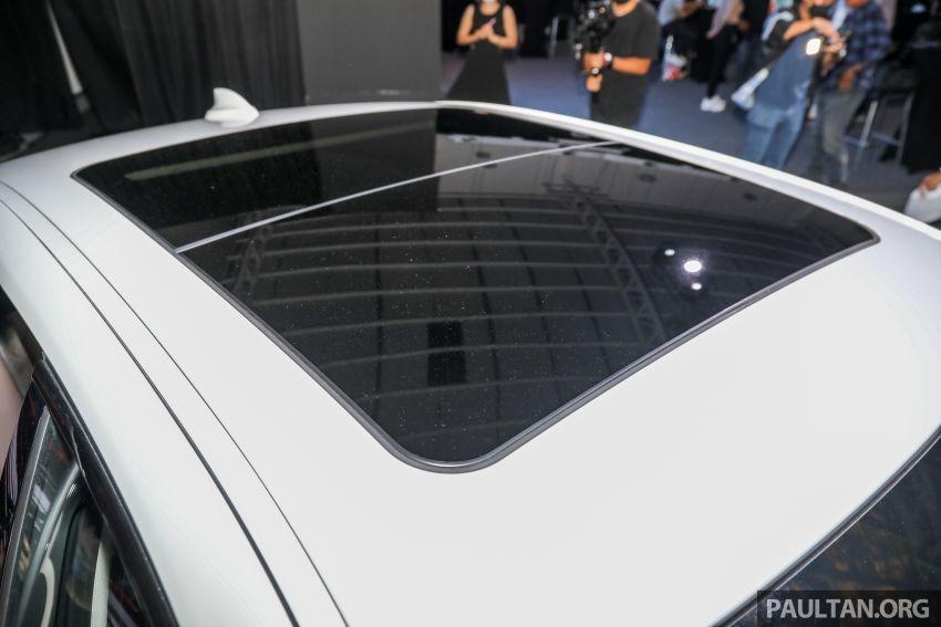Cửa sổ trời của BMW 3-Series Li 2021