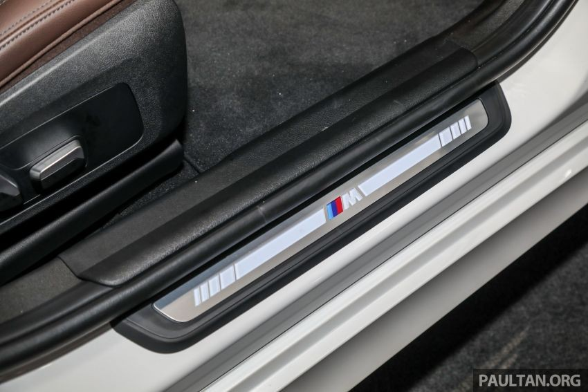 Ốp bậc cửa của BMW 3-Series Li 2021