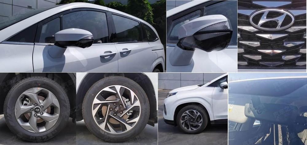 Những chi tiết thiết kế đáng chú ý khác của Hyundai Custo