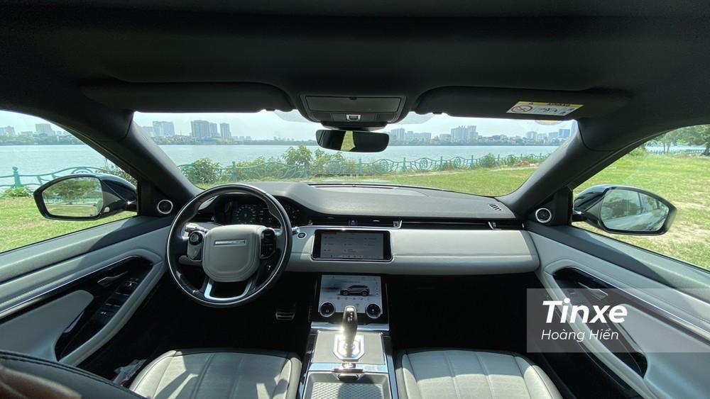 Nội thất bên trong Range Rover Evoque bản thường