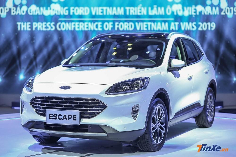 Ford Escape từng xuất hiện tại triển lãm VMS 2019.