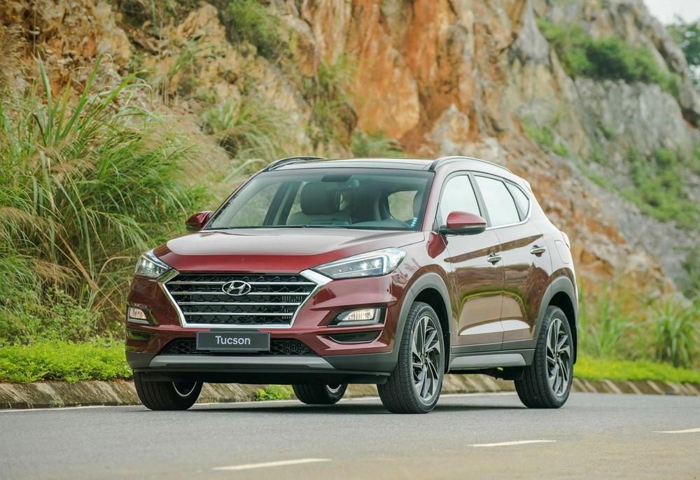 Hyundai Tucson là mẫu xe có sức tăng trưởng lớn nhất của TC Motor trong tháng 3/2021.
