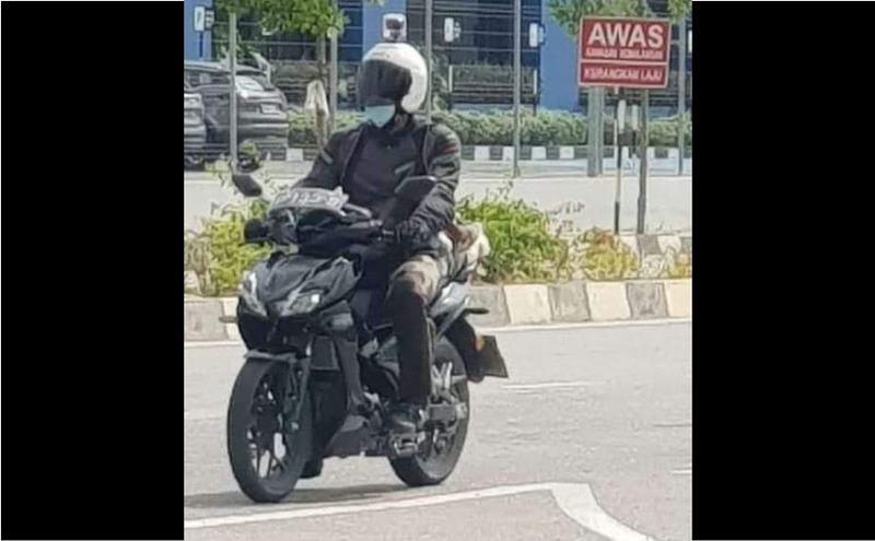 Honda Winner X 2021 xuất hiện tại Malaysia