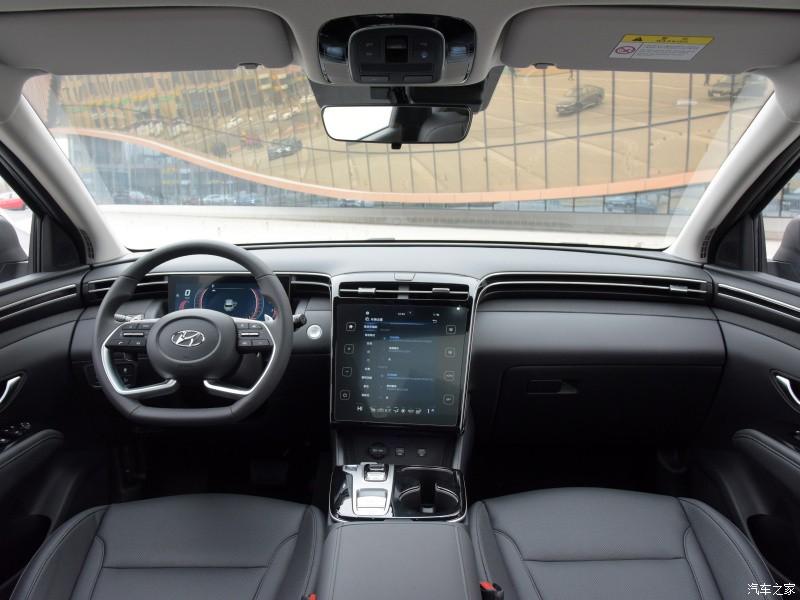 Nội thất bên trong Hyundai Tucson L 2021