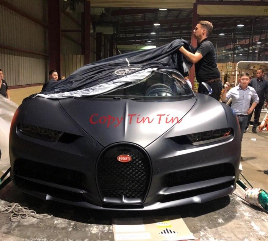 Bugatti Chiron thứ 2 ở Campuchia thuộc bản Sport 110 Ans Edition chỉ có 20 xe trên thế giới