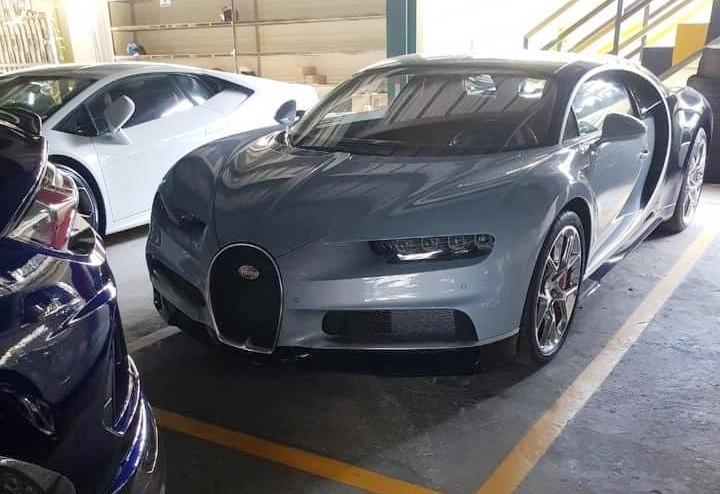 Đây đã là chiếc Bugatti Chiron thứ 3 được đại gia Campuchia mang về nước