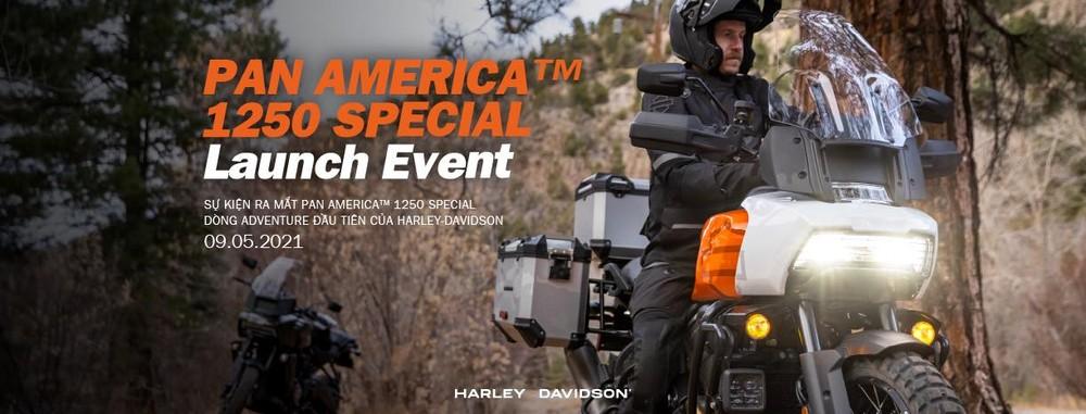 Sự kiên ra mắt Harley-Davidson Pan America tại Việt Nam sẽ diễn ra
