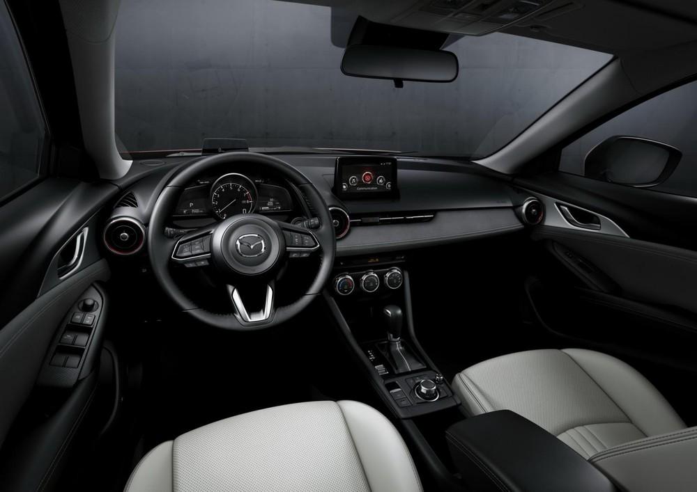 Nội thất của Mazda CX-3.