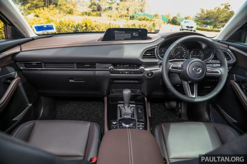 Nội thất của Mazda CX-30.