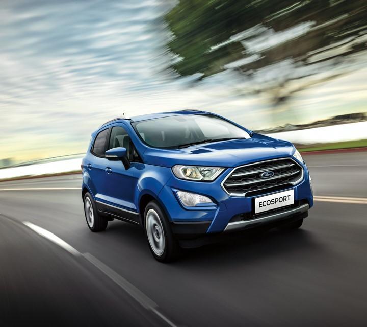 Trái ngược với 2 người anh cả, sức bán của Ford EcoSport ở quý I/2021 khá ảm đạm.