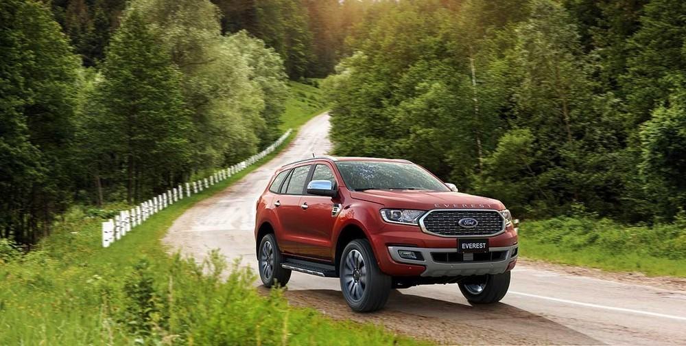 Sức tiêu thụ của Ford Everest tăng mạnh nhờ các ưu đãi lớn của đại lý trong vài tháng gần đây.