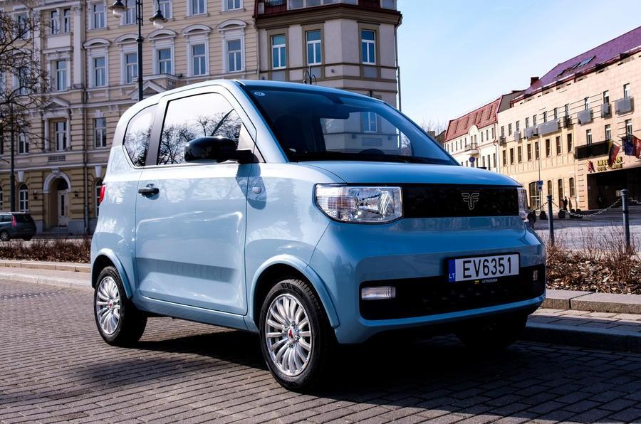 FreZe Nikrob EV là phiên bản đổi tên của Wuling Hongguang Mini EV