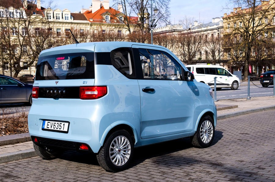 FreZe Nikrob EV còn an toàn hơn Wuling Hongguang Mini EV
