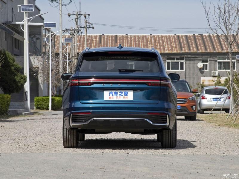 Thiết kế đuôi xe của Geely Xingyue L 2021