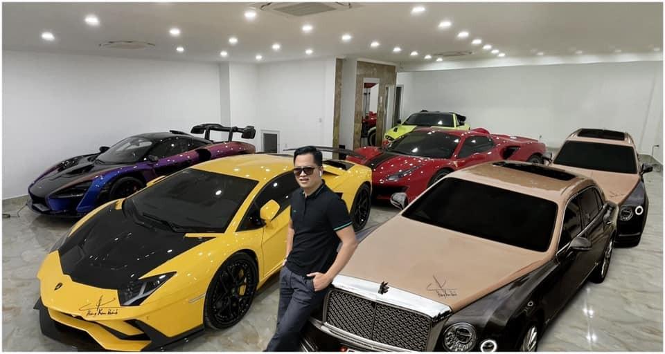 Garage của Hoàng Kim Khánh sẽ sớm đón thêm vợ mới có thể là xe hypercar