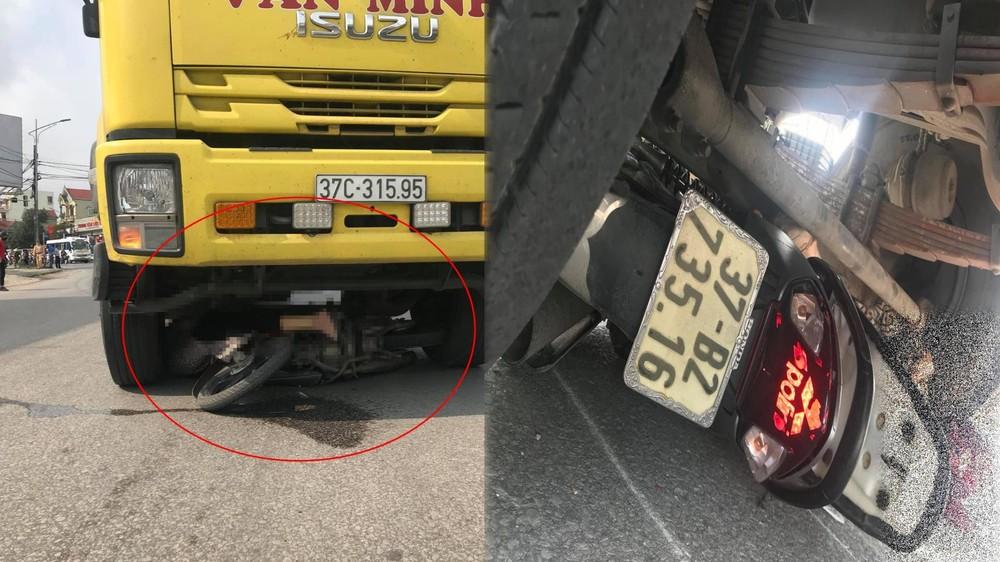 Vụ tai nạn làm người phụ nữ tử vong ngay tại chỗ, dưới gầm xe tải