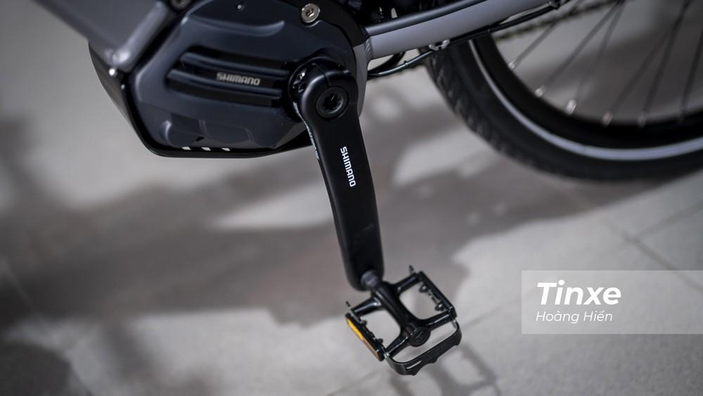 Đi kèm với Triumph Trekker GT là khối động cơ điện làm nhiệm vụ trợ lực điện khi vận hành với 3 cấp độ Eco, Normal và High cho phép giúp đỡ người lái di chuyển dễ dàng hơn, ít mệt mỏi hơn.