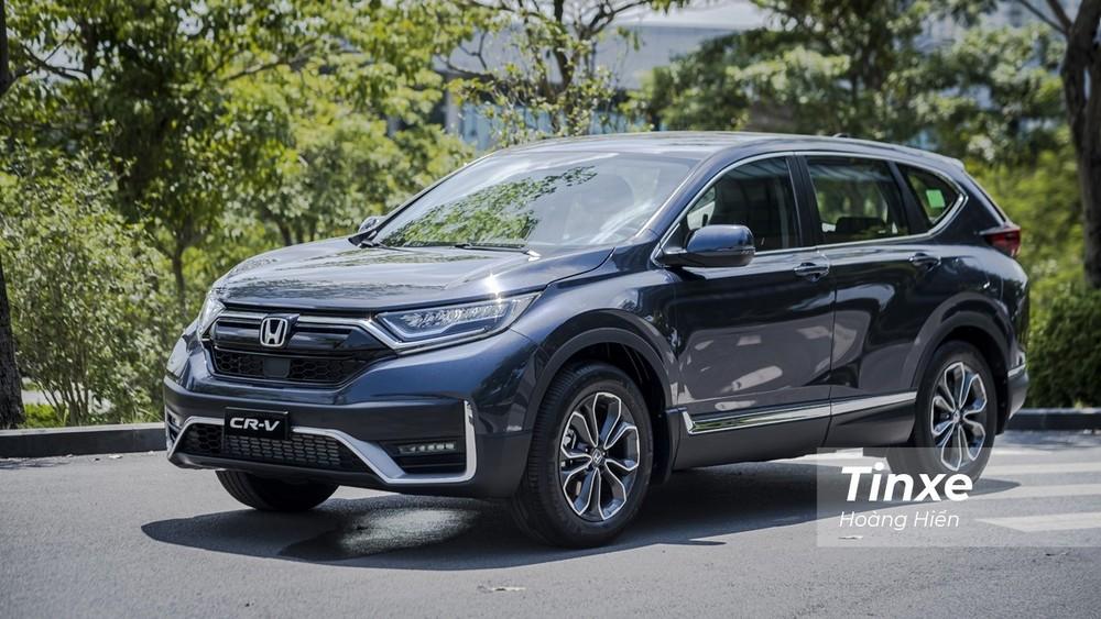 Sức tiêu thụ của Honda CR-V có tăng trưởng trong tháng 3/2021 nhưng vẫn chưa thể áp đảo được các đối thủ.