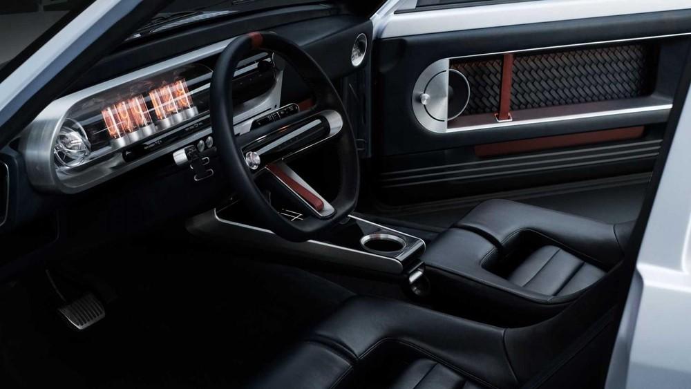 Nội thất của Hyundai Heritage Series – Pony