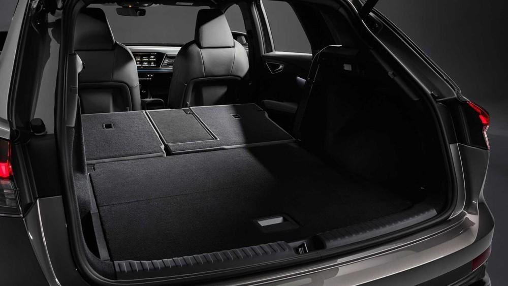 Khoang hành lý của Audi Q4 E-Tron 2022
