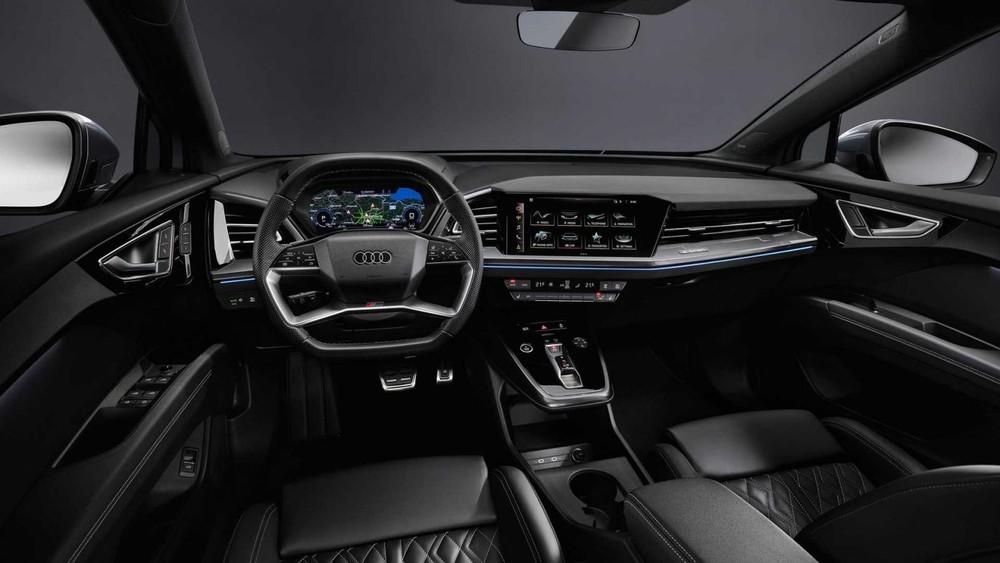 Nội thất bên trong Audi Q4 E-Tron và Q4 Sportback E-Tron 2022